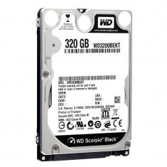Hard disk notebook WD 320GB SATA-II 7200 rpm 16MB Scorpio Black WD3200BEKT