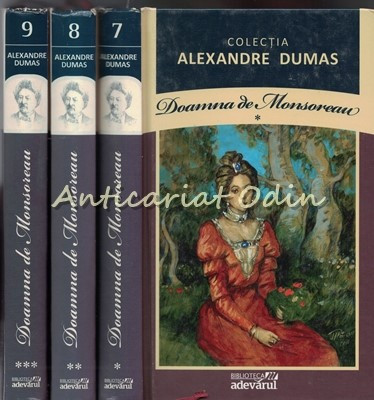 Doamna De Monsoreau I-III - Al. Dumas foto