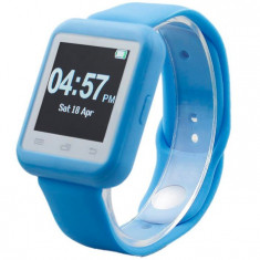 Smartwatch iUni U900i Plus, Bluetooth, LCD 1.44 Inch, Blue