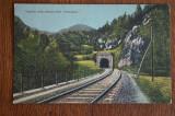Tunelul de la cetatea Petroseni ( Petrosani ) - cale ferata CFR, Circulata, Fotografie
