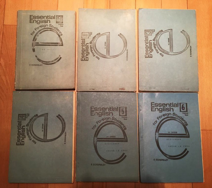 Essential English for Foreign Students - E. Eckersey - 6 volume