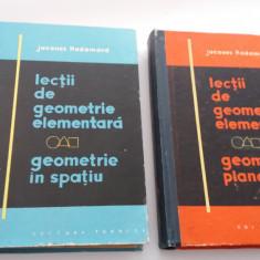 LECTII DE GEOMETRIE ELEMENTARA --JACQUES HADAMARD  SPATIU SI PLANA  R21