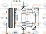 Compresor clima / aer conditionat FORD TRANSIT caroserie (FA) (2000 - 2006) HELLA 8FK 351 113-391