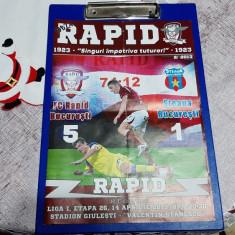 program      Rapid  -  Steaua