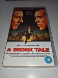 VHS-A Bronx Tale-Film celebru cu mafioti italieni Robert De Niro si Joe Pesci