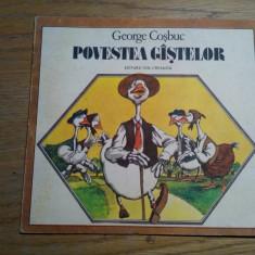 POVESTEA GISTELOR - George Cosbuc- VASILE OLAC (ilustratii) -  1989
