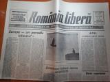 Ziarul romania libera 28martie 1990-confruntarea interetnica de la targu mures