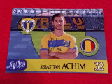 Foto cu autograf original - fotbalistul SEBASTIAN ACHIM (PETROLUL Ploiesti)