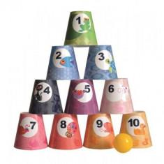 Joc de indemanare - Cupe cu cifre