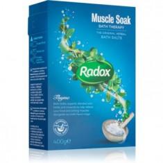 Radox Muscle Soak sare de baie pentru relaxarea muschiilor