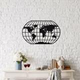 Cumpara ieftin Decoratiune pentru perete, Ocean, metal 100 procente, 88 x 49 cm, 874OCN1038, Negru