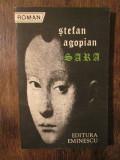 Sara - Ștefan Agopian (dedicația și autograful autorului pt. Vasile Băran)