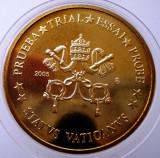 5.374 VATICAN MODEL EURO 50 CENTS SPECIMEN PRUEBA TRIAL ESSAI PROBE