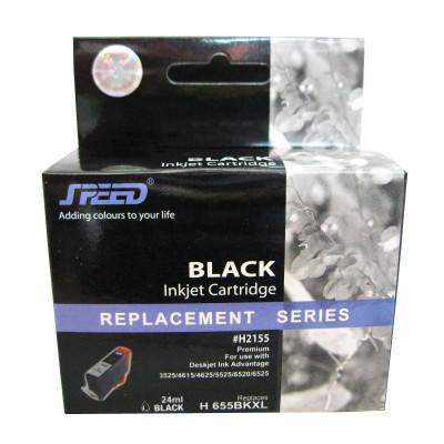 Cartus cerneala compatibil cu HP 655XL black,CZ109AE foto