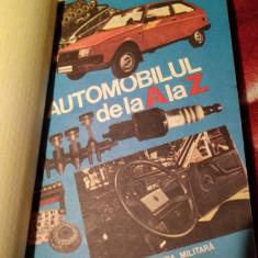 Automobilul de la A la Z, Editura Militara