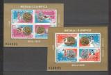 Romania.1988 Medalii olimpice SEUL-bloc  HR.516, Nestampilat