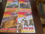 Svenn Hasel - 4 carti Colectia Cainii Razboiului nr, 1,4,11,30 Editura Z