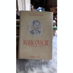MAIACOVSCHI MONOGRAFIE - N. MASLIN