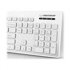 Tastatura USB rezistenta la apa, 103 taste qwerty, IP05, Esperanza Singapore