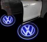 Proiectoare in portiera cu Logo VW Passat 2000 - 2005, Phaeton