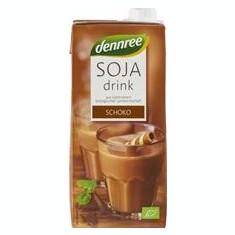 Bautura de Soia cu Ciocolata Bio 1L Dennree Cod: 101452