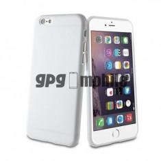 Husa TPU pentru Apple iPhone 6 Muvit ThinGel Alba