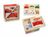 Puzzle de lemn, Cars-A
