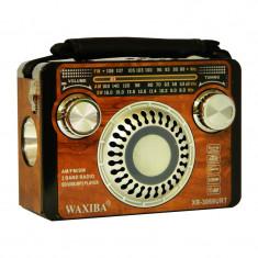 Radio portabil Waxiba XB-3069URT, 3 benzi, Maro