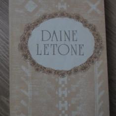 DAINE LETONE - NECUNOSCUT