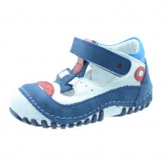 Sandale ortopedice din piele pentru baieti NN SO-02, Multicolor