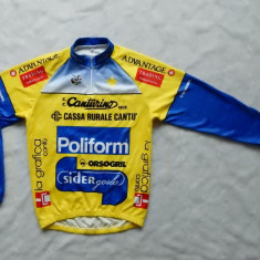 Bluza ciclism B.M.S. Made in Italy; marime L, vezi dimensiuni exacte; ca noua