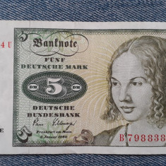 5 Mark 1980 Germania RFG, marci germane