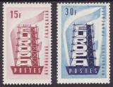 Franta 1956 - Europa-cept 2v.neuzat,perfecta stare(z)