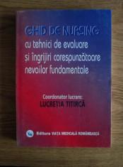 Ghid de Nursing cu tehnici de evaluare si ingrijiri foto