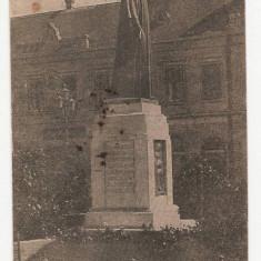 Oradea Statuia Reginei Maria 1932, Circulata, Fotografie