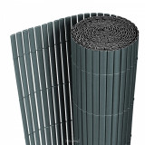 Cumpara ieftin Gard opac - protectie vizuala din PVC 150 x 300 cm gri
