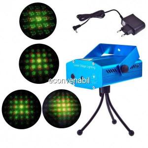 Laser Proiector Jocuri de Lumini Rosu Verde YXA4
