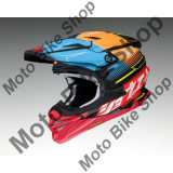 MBS SHOEI MX HELM VFX-WR ZINGER TC-10, rot-cyan-orange, M, Cod Produs: 1408106MAU