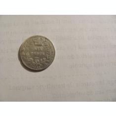 CY - 6 pence 1864 Marea Britanie / numarul matritei 5