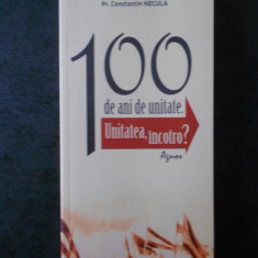 Pr. CONSTANTIN NECULA - 100 DE ANI DE UNITATE. UNITATEA, INCOTRO ?