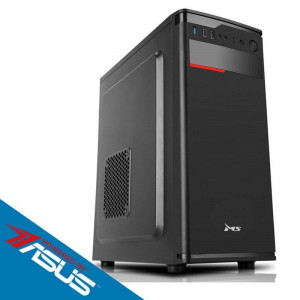 Sistem desktop Start Pro V4 Powered by ASUS Intel Celeron Dual-Core J1800 2.41 GHz Intel HD Graphics 8GB DDR3 120GB SSD + 1TB HDD 500W Black
