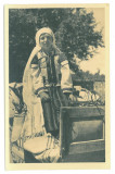 4923 - ETHNIC woman, from Gorj Romania - old postcard real PHOTO - unused - 1936