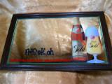 Tablou oglinda reclama bar vintage