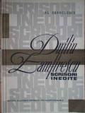 Duiliu Zamfirescu Scrisori Inedite - Al. Sandulescu ,304122