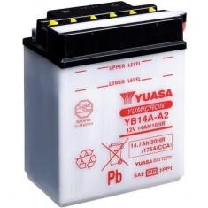 Yuasa baterie scuter maxiscuter moto YB14A-A2 134x89x176 12V 14Ah 190A Suzuki