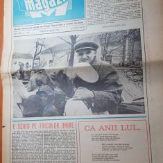 ziarul magazin 26 ianuarie 1980-ziua de nastere a lui nicolae ceausescu