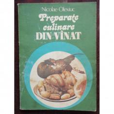 PREPARATE CULINARE DIN VANAT - NICOLAE OLEXIUC