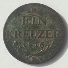 Austria 1 Kreuzer - Franz II 1816 B