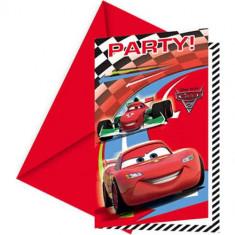 Invitatii petrecere Cars 2