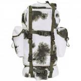 Rucsac MFH BW Combat Camuflaj Winter Camo 65L 30253O